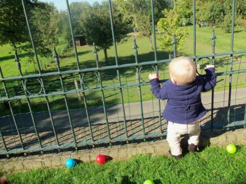 Spelen in tuin (3)
